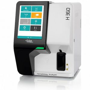 Automated 3-Part differential hematology analyzer